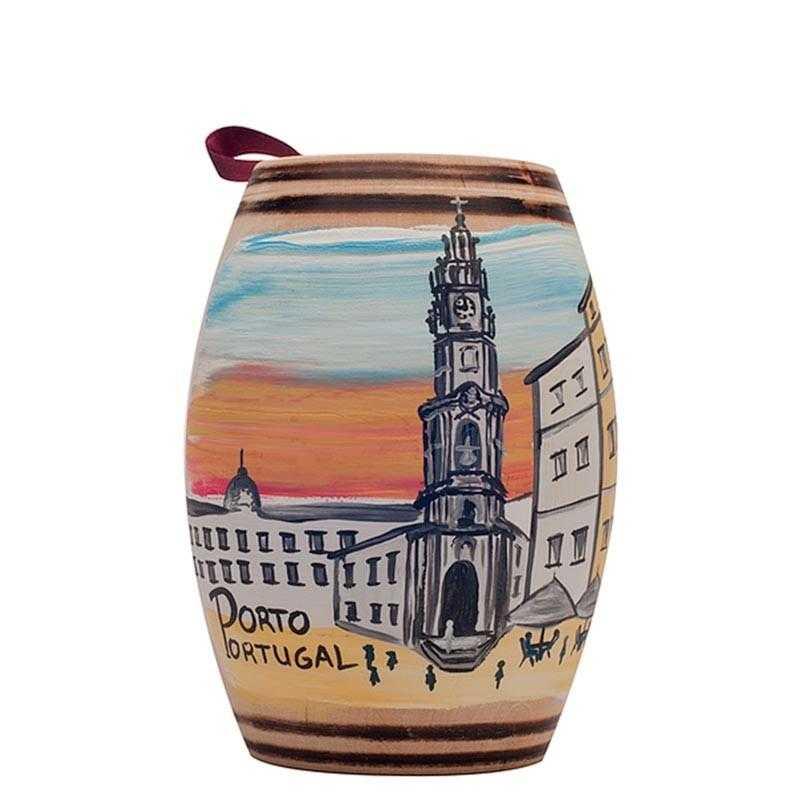 Oporto Clérigos Barrel with Chocolate Truffles