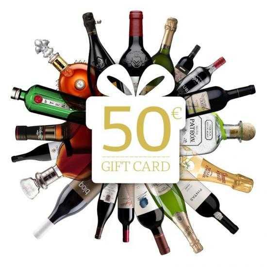 Cartão Oferta 50€