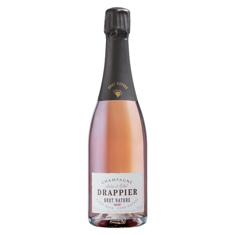 Drappier Brut Nature Rosé Champagne