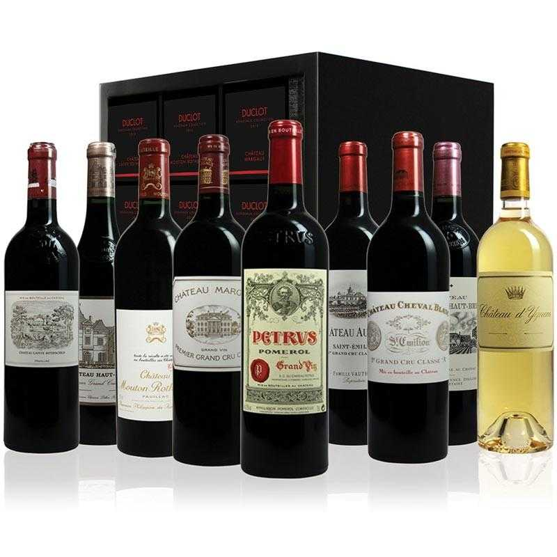 Duclot Bordeaux Collection 2015 - 9 btls Prestige Case