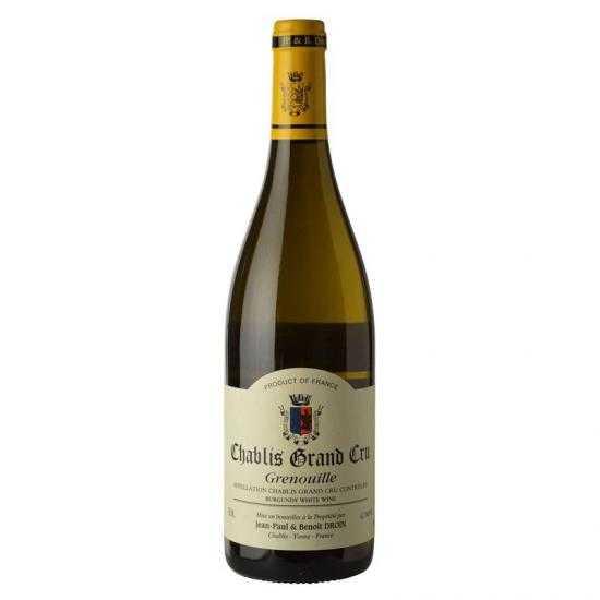Jean Paul & Benoit Droin Chablis Grand Cru Grenouille 2013 White