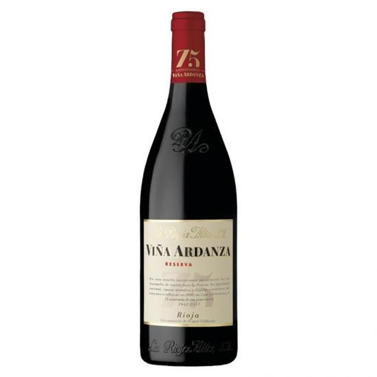 La Rioja Alta Viña Ardanza Reserva 2008 Red