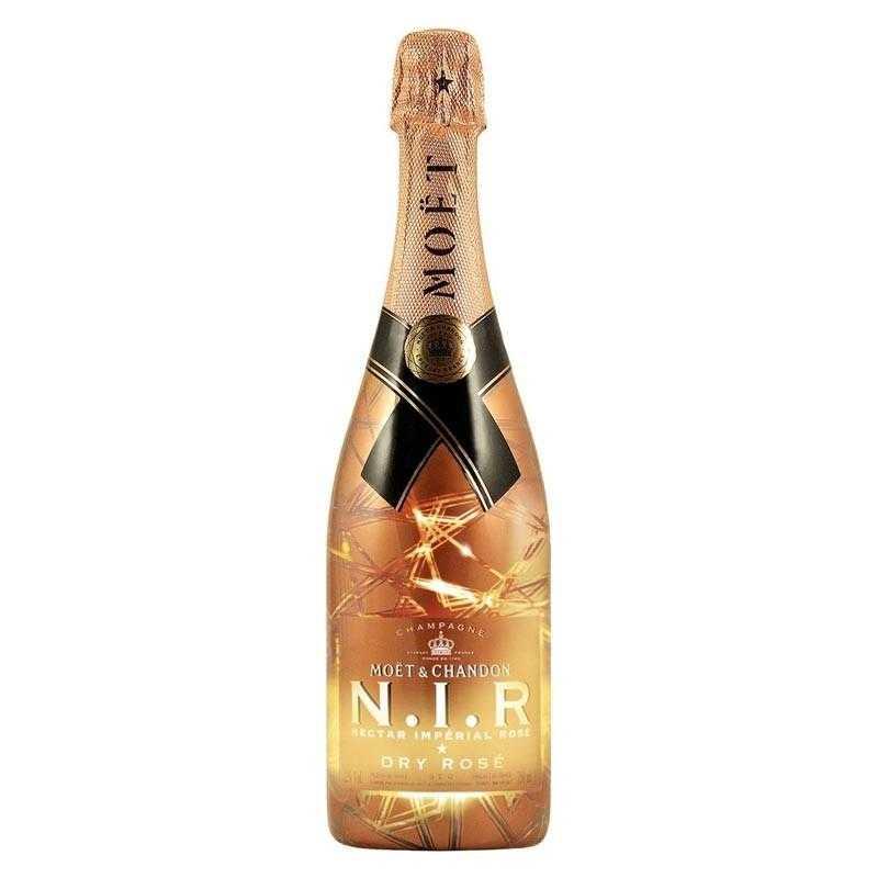 Moët & Chandon N.I.R. Nectar Impérial Rosé Champanhe