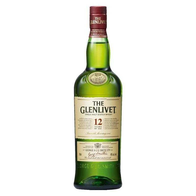 The Glenlivet 12 Year Old Whisky