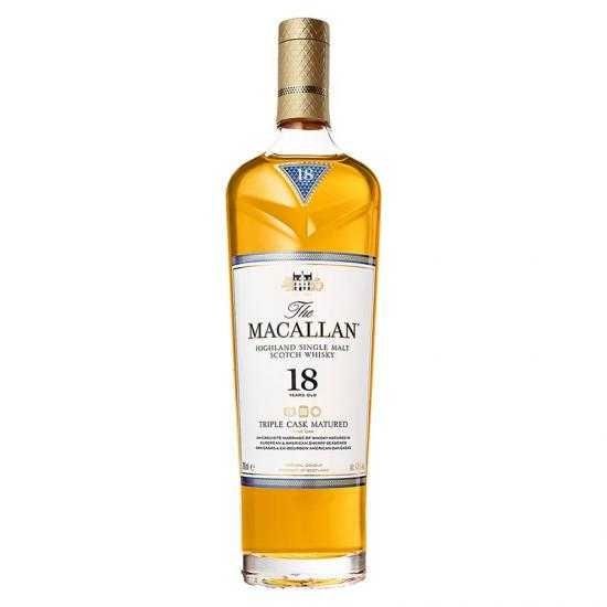 The Macallan 18 years Triple Cask Whisky