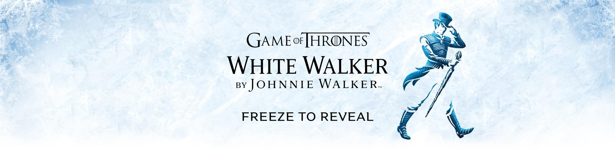 Game of Thrones White Walker by Johnnie Walker Whisky